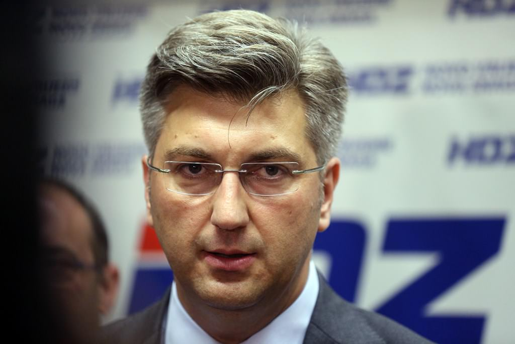HDZ: Plenković predao potpise potpore za kandidaturu za predsjednika stranke