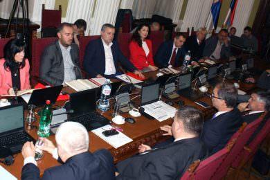 Српски посланици из парламената Румуније, Мађарске и Македоније у Скупштини Србије