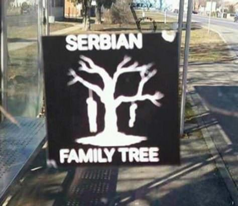 Српско породично стабло