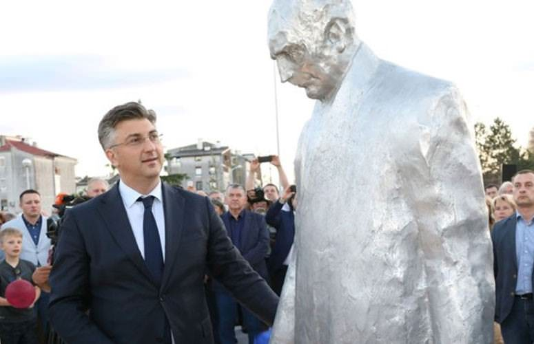 споменик Фрањи Туђману