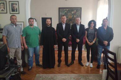 Одржан састанак Линте и делегације избјегличког насеља Грмовац са предсједником општине Земун