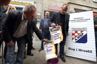 Линта: Ново паљење српског листа Новости у Загребу наставак подстицања на мржњу и насиље према преосталим Србима