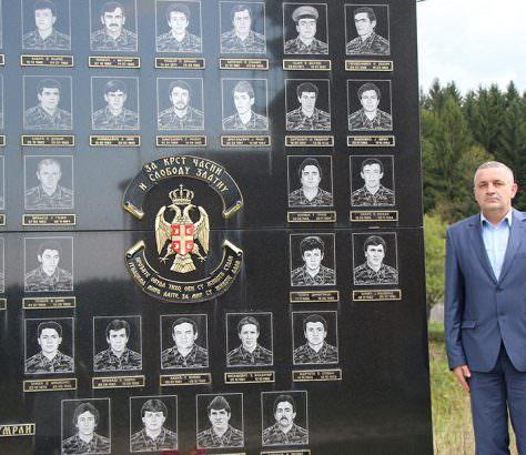 Спомен-обиљежје у селу Ситници