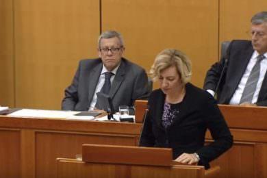 Линта: Напад на посланицу ССДС-а у Хрватском сабору Драгану Јецков због говора на српском језику јесте фашизам