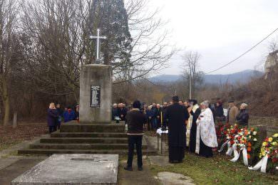 Служен парастос за 320 Срба из Кометника код Воћина убијеним од усташа 14. јануара 1942. године