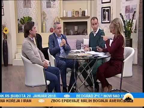 Линта и Бјеговић у емисији Свитање на ТВ Пинк поводом посјете предсједника Вучића КиМ