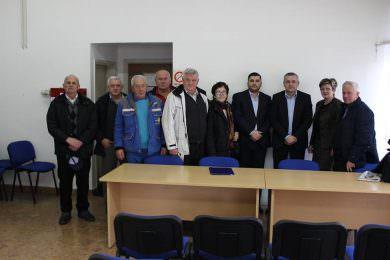 Чланови удружења радника и инвалида рада из Хрватске, са сједиштем у Бања Луци, разговарали са Миодрагом Линтом