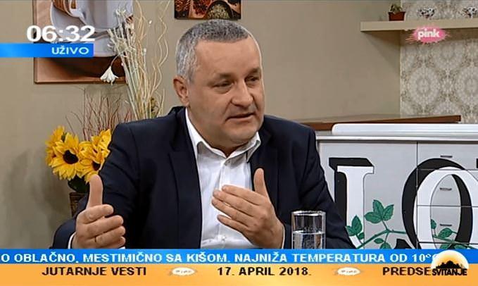 Миодраг Линта у Јутарњем програму ТВ Пинк говорио о односима у региону