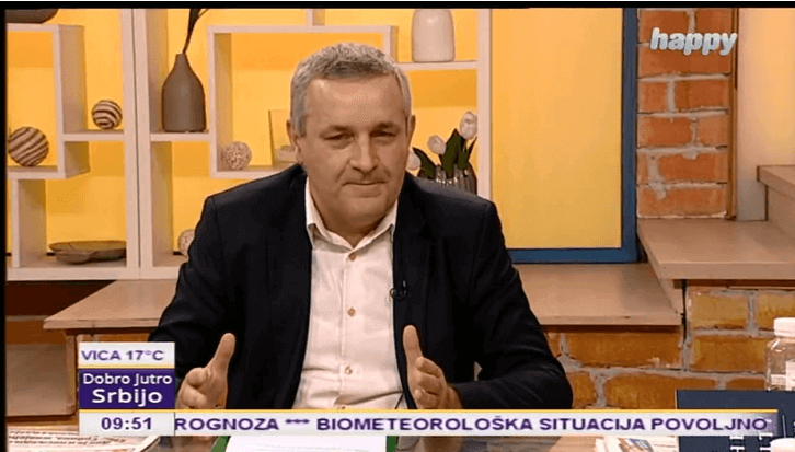 Миодраг Линта у Јутарњем програму ТВ Хепи о тешком положају Срба у Федерацији БиХ