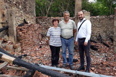 Пaљење српске имовине Душана и Маре Новаковић у Лици порука да Срби нису добродошли