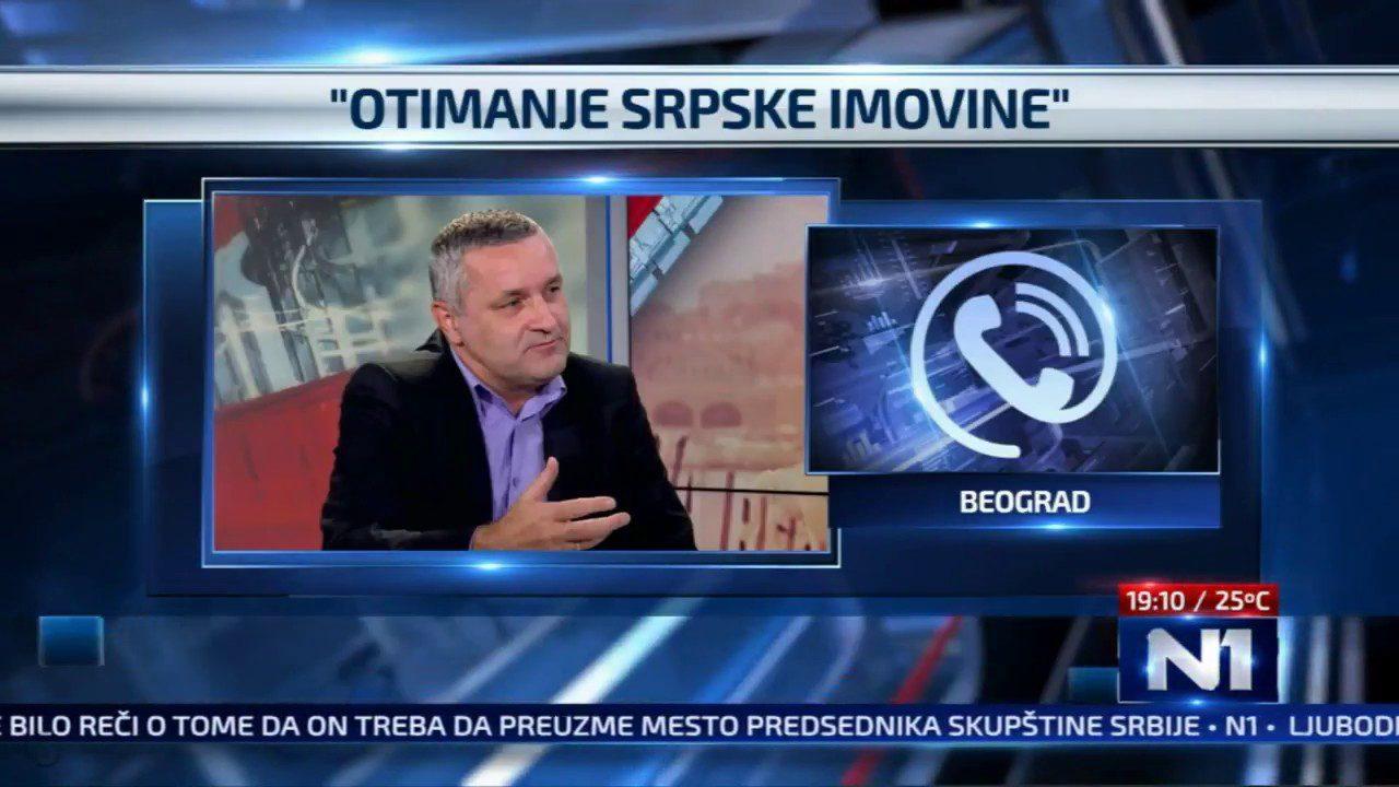Линта истиче да нови хрватски закон представља завршни чин отимања имовине