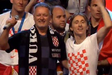 Линта: Дочек играча Хрватске у Загребу још једном потврдио да је њихов идол доказани србомрзац и отворени сљедбеник усташтва Марко Перковић Томпсон