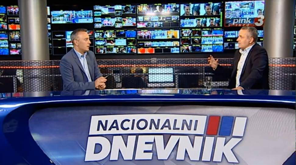Линта на ТВ Пинк говорио о лажној тврдњи да се у Сребреници десио геноцид над Бошњацим