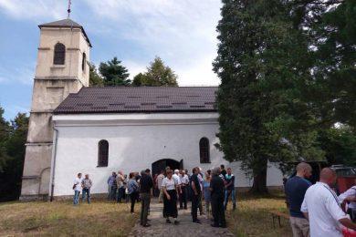 Парастос за жртве усташког терора у Садиловцу на Кордуну