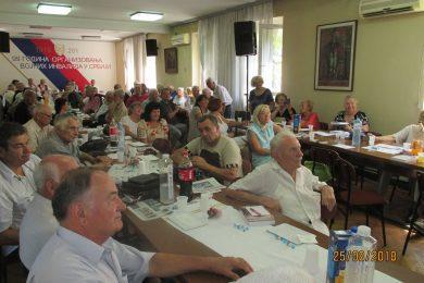 У Београду одржана свечана сједница поводом обиљежавања 76-годишњице формирња личких бригада