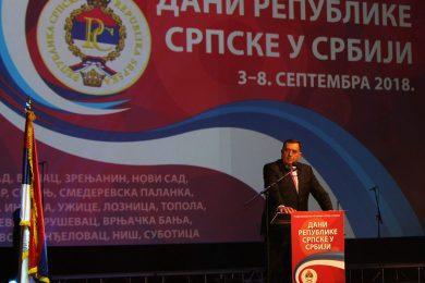 ОТВОРЕНИ ДАНИ РС У СРБИЈИ: Окупљени око свете ријечи – слобода