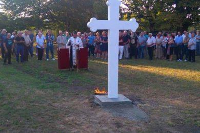 Прослављена Велика Господина и освештан крст у селу Перна на Кордуну