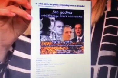 Линта: Хрватска радио-телевизија (ХРТ) активно ради на рехабитацији усташтва и НДХ