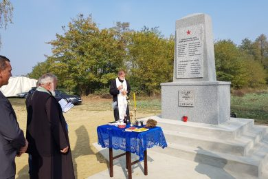 У Илмин Двору код Подравске Слатине обновљен партизански споменик и обиљежено сто година од досељења са Кордуна