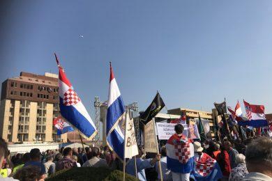 Линта: Протест Хрвата у Вуковару у вези ратних злочина наставак хајке на Србе