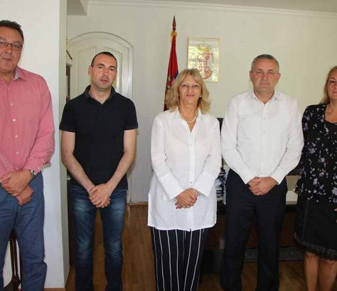 Линта у посјети амбасади Србије у Скопљу
