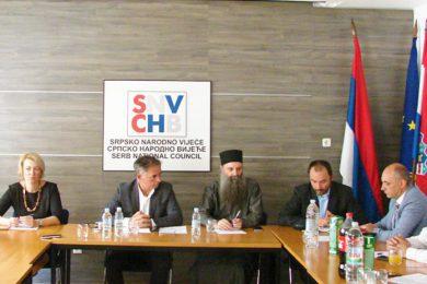 Представници српских институција у Загребу разговарали о бројним проблемима