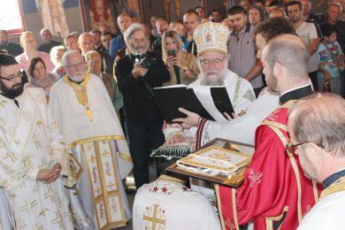 У храму Светог Кирила и Методија, у Бусијама обиљежен празник Покров Пресвете Богородице