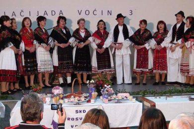 Oдржана Колачијада у Воћину у западној Славонији