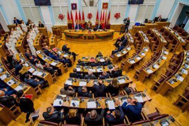 Линта 1. децембра у Подгорици на обиљежавању стогодишњице Велике скупштине српског народа