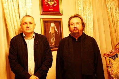 Линта у Карловцу разговарао са Владиком Герасимом, како сачувати српску земљу у Хрватској
