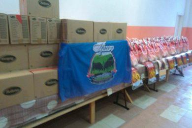 """Завичајно удружење Сањана """"Грмеч"""" уручило помоћ за 100 најугроженијих породица"""